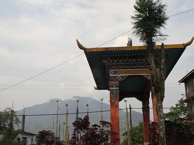 Entrance Gate To Tashiding