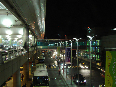 Entrance Of The International Terminal