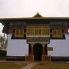 Entrance Sanga-Choeling Monastery