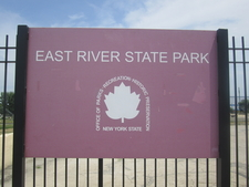Entrance Sign At East River State Park