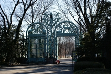 Entrance To Bronx Zoo