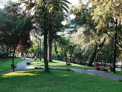 Entrance To Cerro - Santiago De Chile