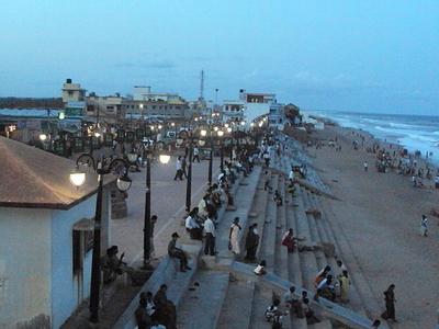 Entrance To Gopalpur Beach