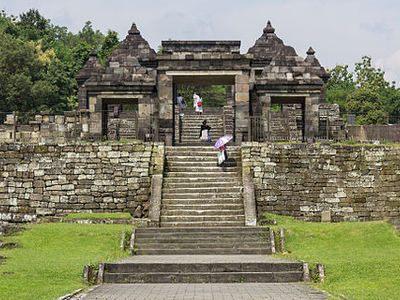 Entrance To Ratu Boko