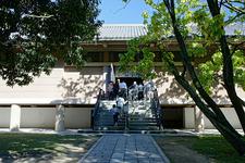 Entrance To Toshodaiji New Treasure House