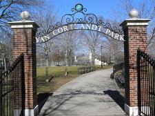 Entrance To Van Cortlandt Park