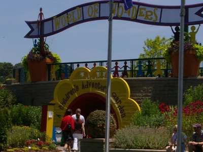 Entrance To World Of Wonders