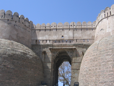 Entry Gate Of Kumbalgarh Fort