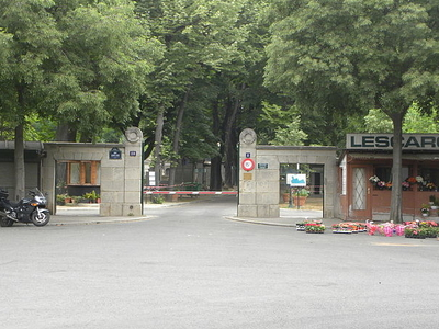 Entry To Batignolles Cemetery