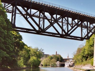 Erie Canal R R Bridge