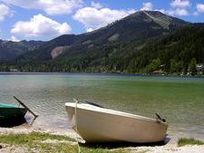 Erlaufsee With Gemeindealpe, Lower Austria, Austria