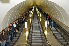Escalators - Moscow Metro