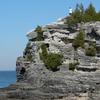 Escarpment At Bruce Peninsula