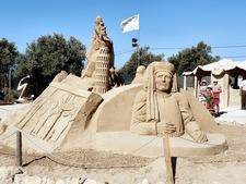 Escultura Em Areia Infante Dom Henrique