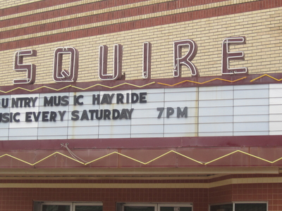The Esquire Theater In Carthage Hosts Country