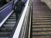 Escalators At The Vallcarca Station