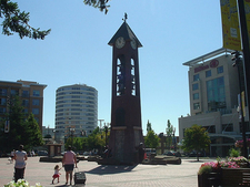 Esther Short Park Clock Tower - Vancouver WA