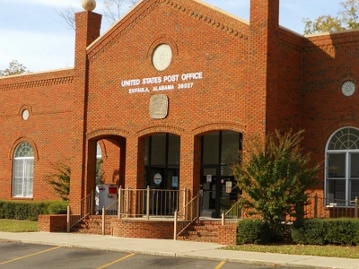 Eufaula  Alabama  Post  Office