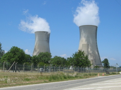 The Cooling Towers Of Eurodif