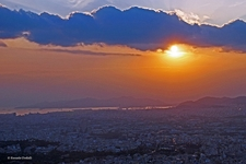 Evening Over Athens