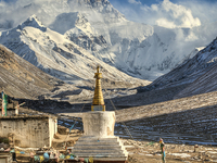 Trek to Everest Advanced Base Camp with Tibet Tour
