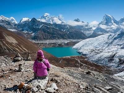Everest Region From Renjo Pass - Nepal Himalayas