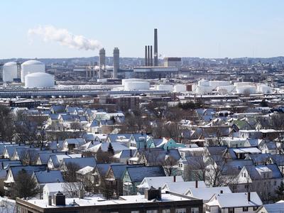 Everett In Winter