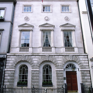 Example Of Georgian Architecture In Dover Street