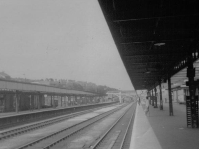 Exeter  Central Railway Station In 1969
