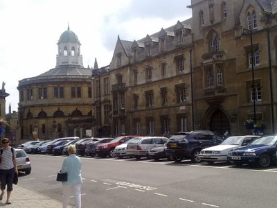 Exeter College Viewed From The Broad Street