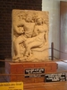 Exhibit At Isurumuniya Temple Complex
