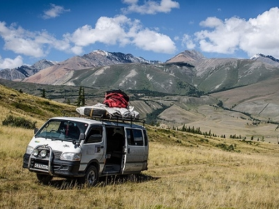 Exploring Altai Mountains