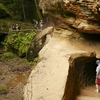 Exploring Old Man's Cave In Hocking Hills State Park - Ohio
