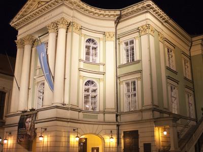 Estates Theatre At Night