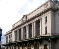 Exterior Of Penn Station
