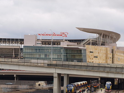 Exterior Of Target Field