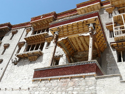 Exterior Walls Of The Palace