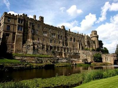 Exterior Of Warwick Castle