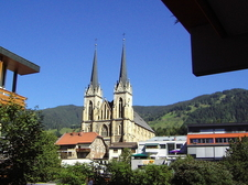 Exterior View Of The Cathedral Of St. Johann