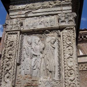 External Side Of Arcus Argentariorum