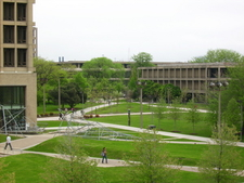 East Campus In Spring