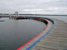 Boardwalk And Swimming Enclosure
