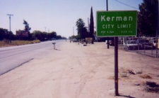East Extent Of Kerman Along Sr 180.