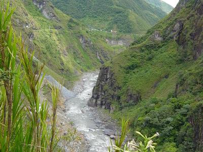 Pastazas River Near Baños