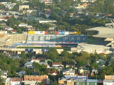 Eden Park Viewed From Mount Eden