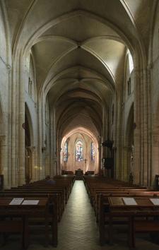 The Nave Of Saint-Pierre De Montmartre