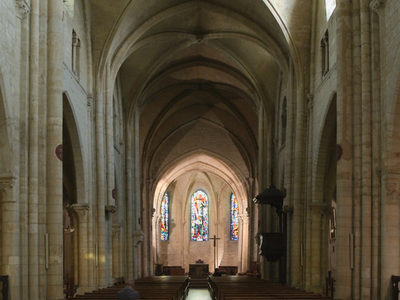 The Nave Of Saint-Pierre De Montmartre