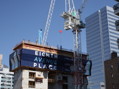 Eighth Avenue Place Under Construction In June 2009