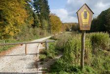 Entrance Of Hainich National Park