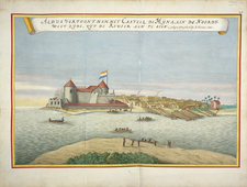 Elmina Castle In The Blaeu-Van Der Hem Atlas.